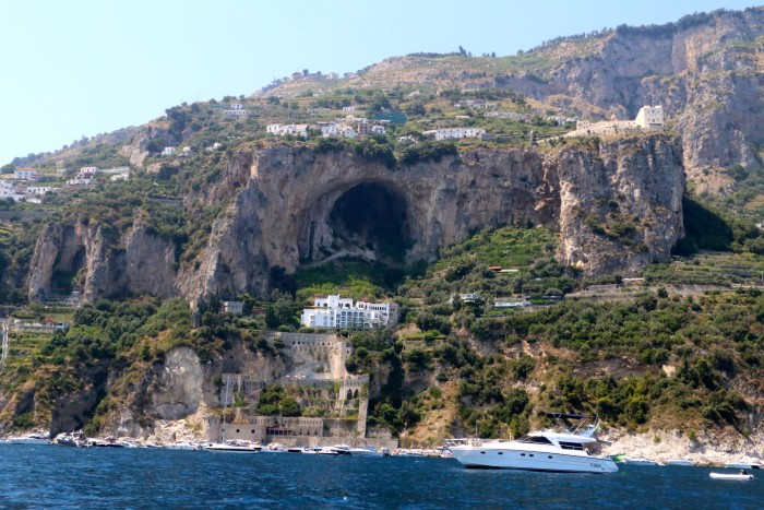 Boating the Amalfi Coast Italy 8