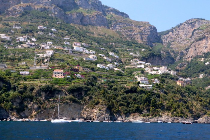 Boating the Amalfi Coast Italy 13