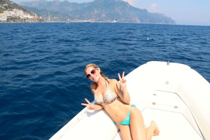 Boating the Amalfi Coast Italy 16