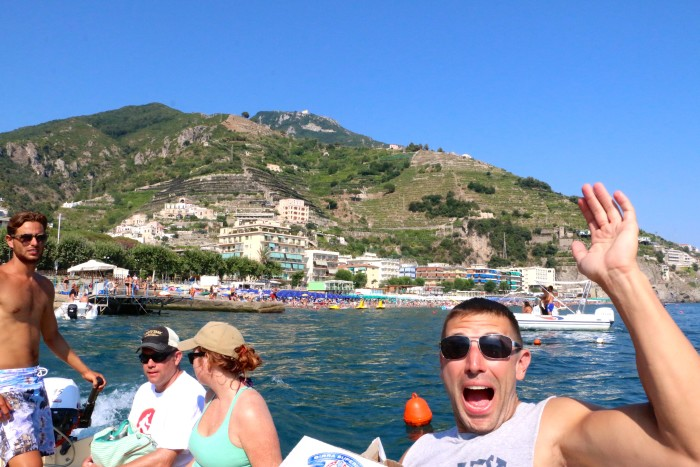 Boating the Amalfi Coast Italy 29