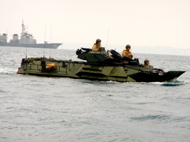 AAV Amphibious Operations