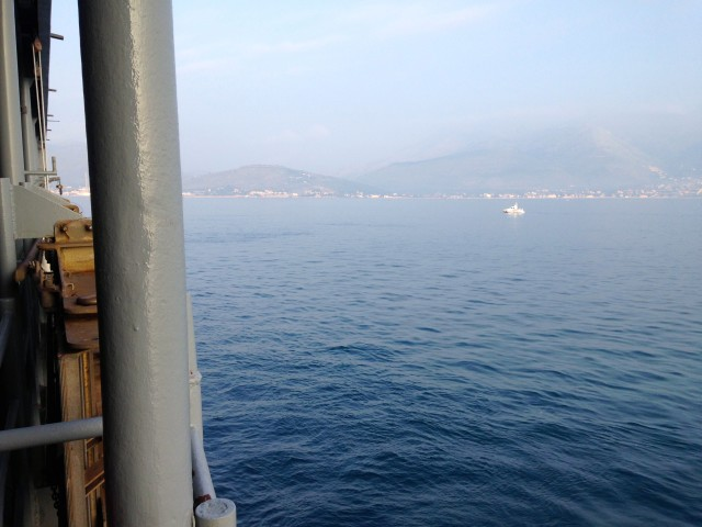 Returning to Port Italy