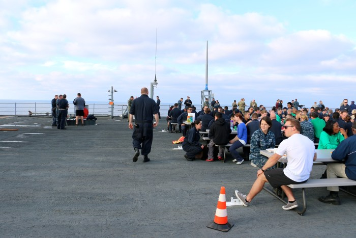 Steal Beach Picnic USS Mount Whitney 2