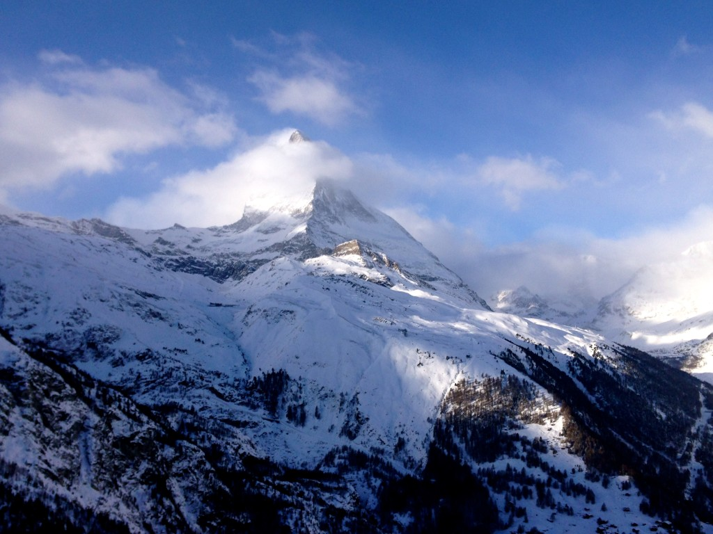 Skiing in Zermatt, Switzerland 22