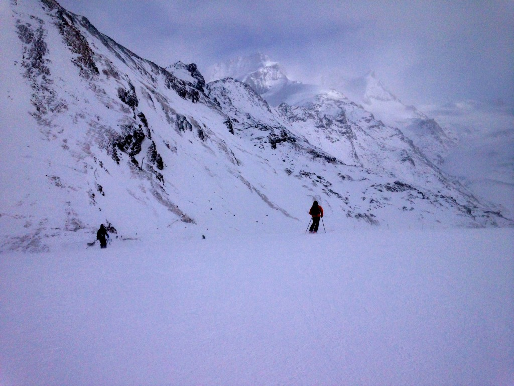 Skiing in Zermatt, Switzerland 26
