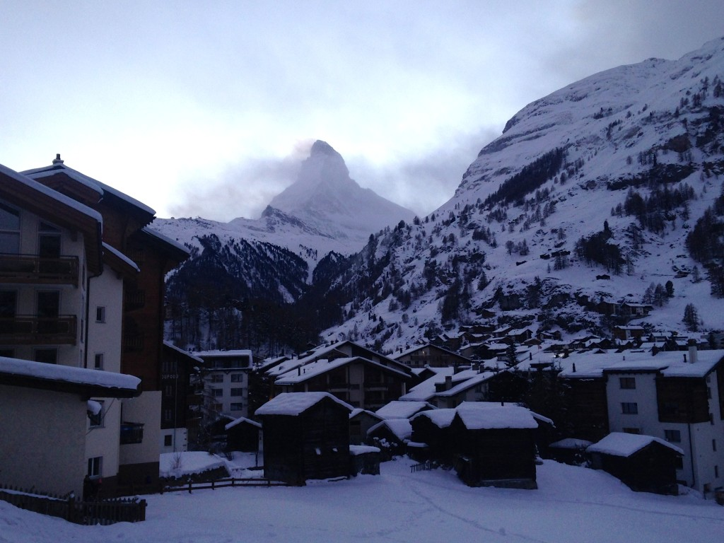 Skiing in Zermatt, Switzerland 46
