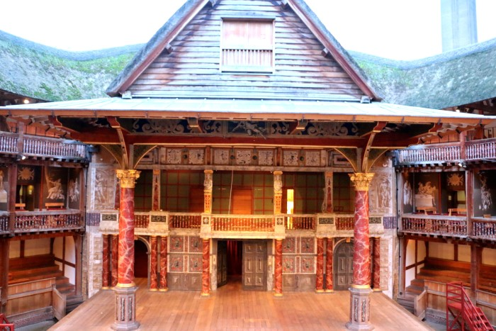 Shakespeare's Globe Theater London 8