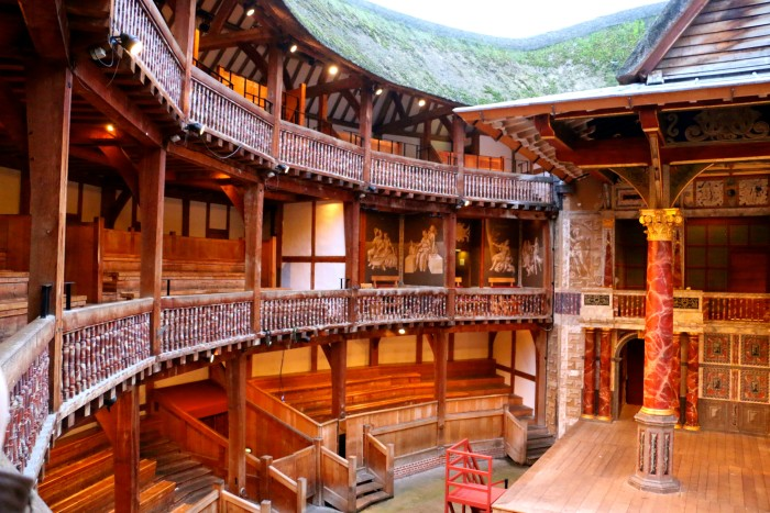Shakespeare's Globe Theater London 10