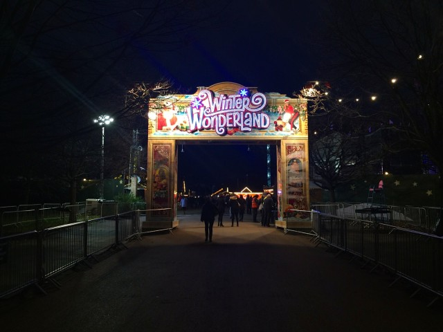 Winter Wonderland Hyde Park London 9