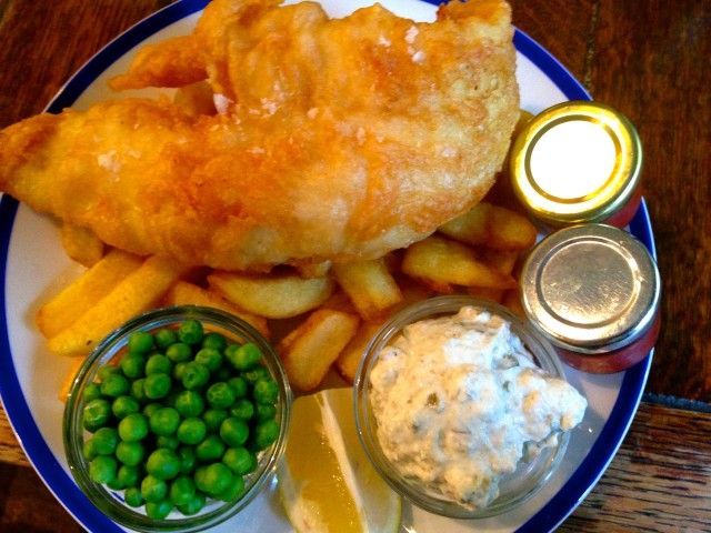 Fish & Chips Greenwich London