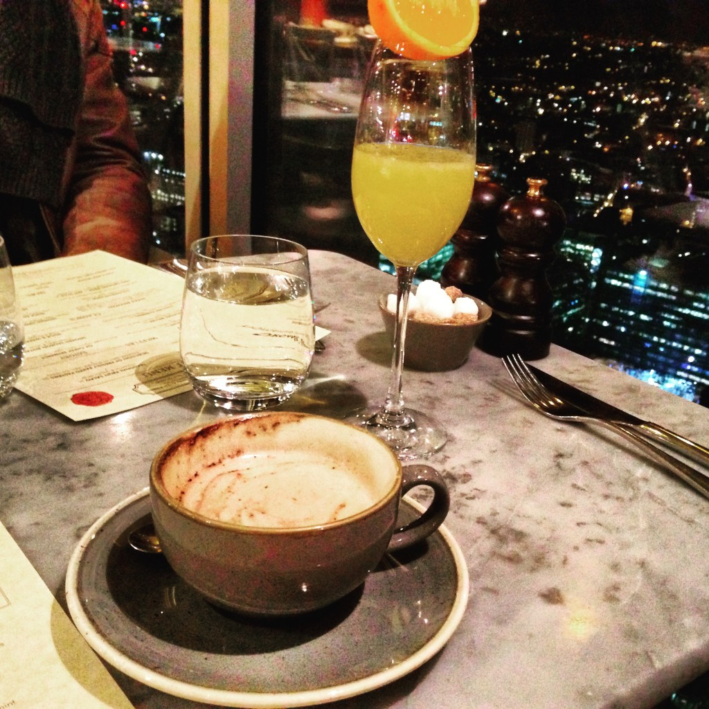 Duck & Waffle before Sunrise London