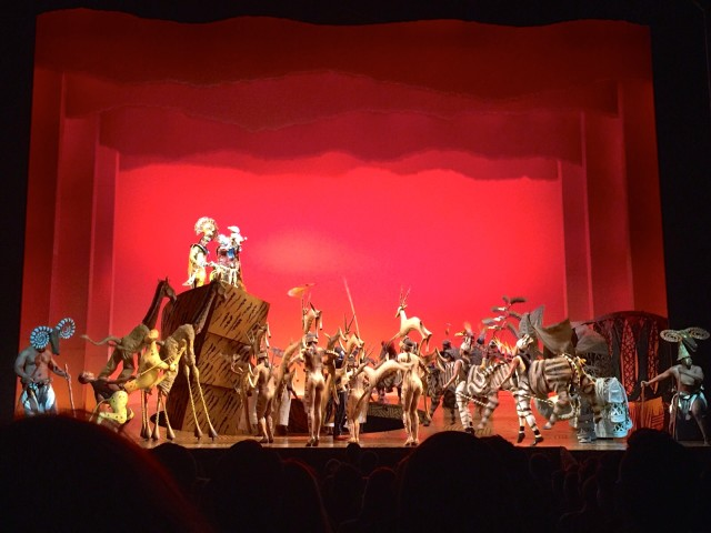 The Lion King Musical, London 3