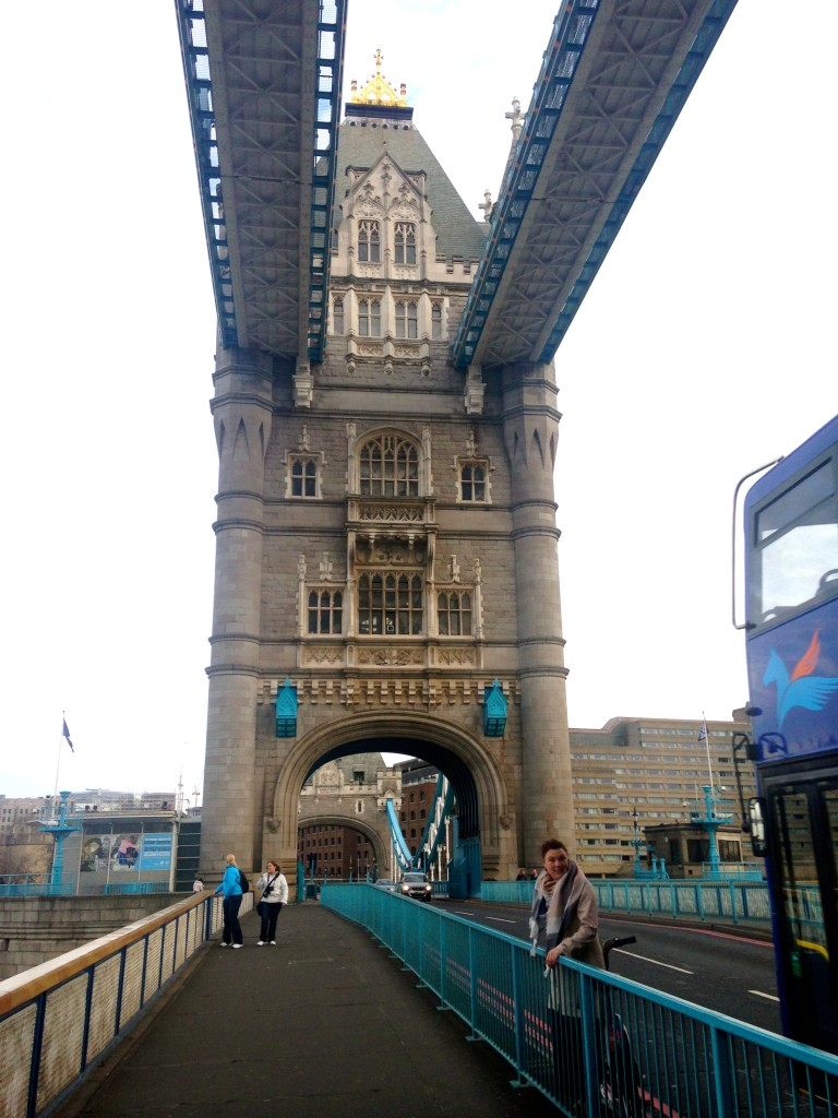 Biking on the London Bridge 4