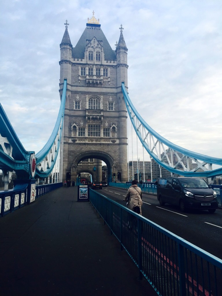 Biking on the London Bridge 6