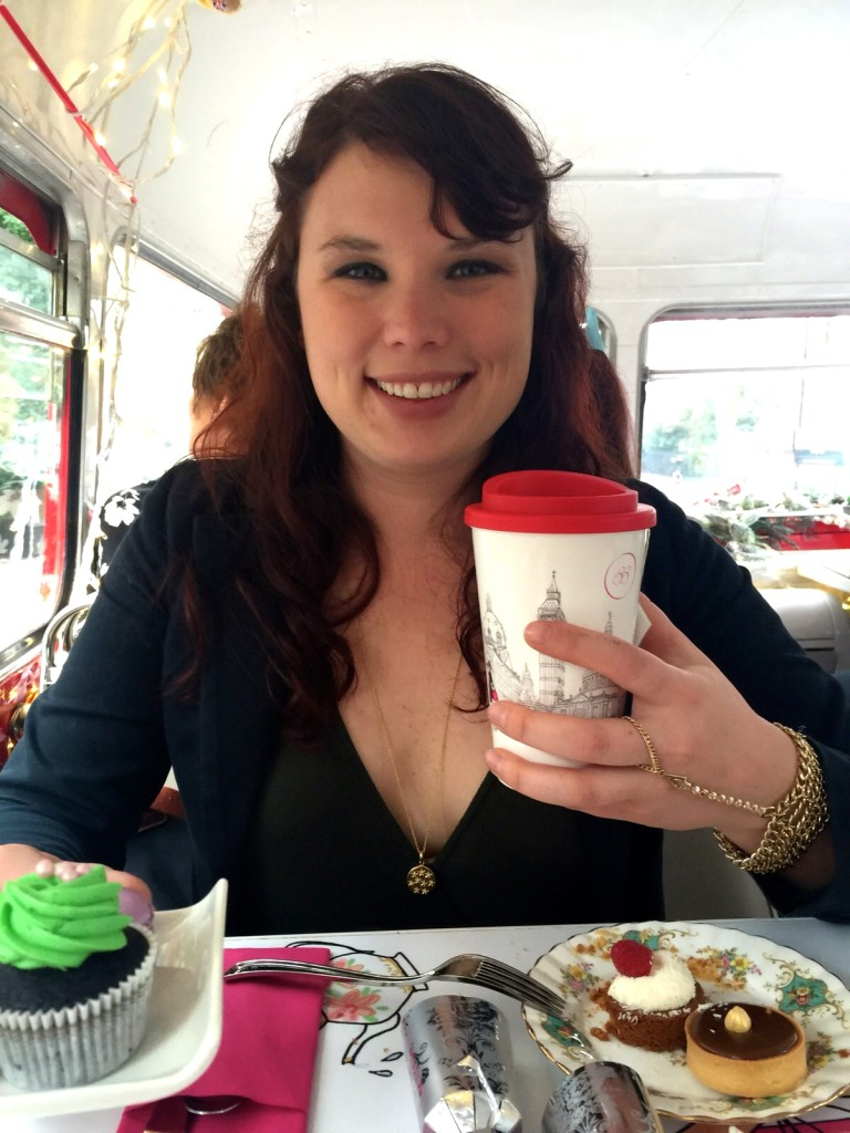High tea, double decker bus tour 5