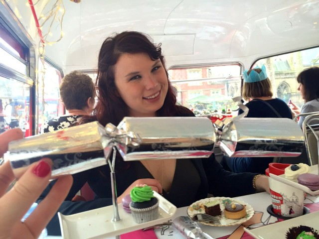 High tea, double decker bus tour 4