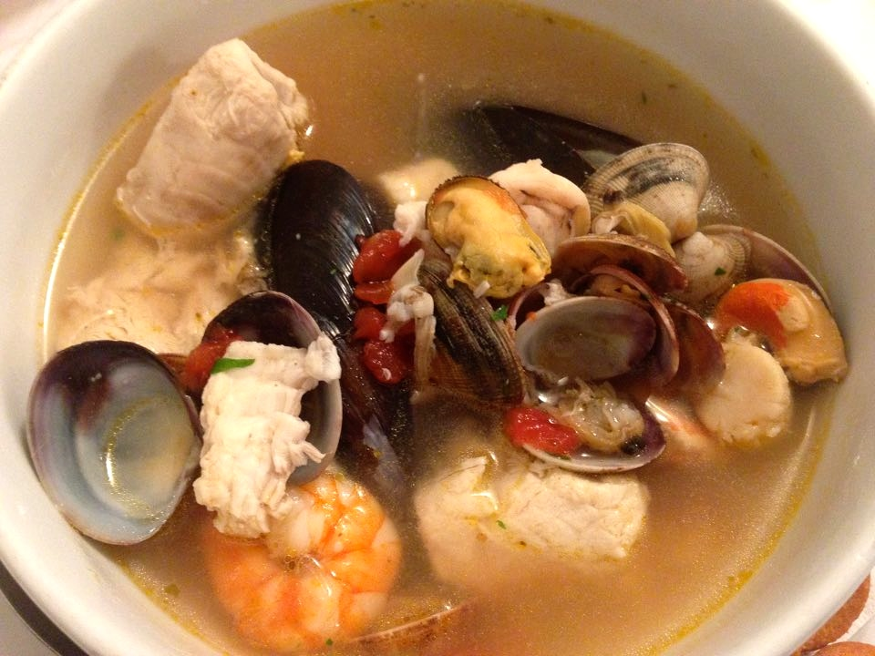 Soup from the Sea Murano Italy