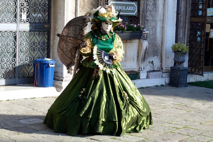 Venice Italy, Carnival Weekend 21