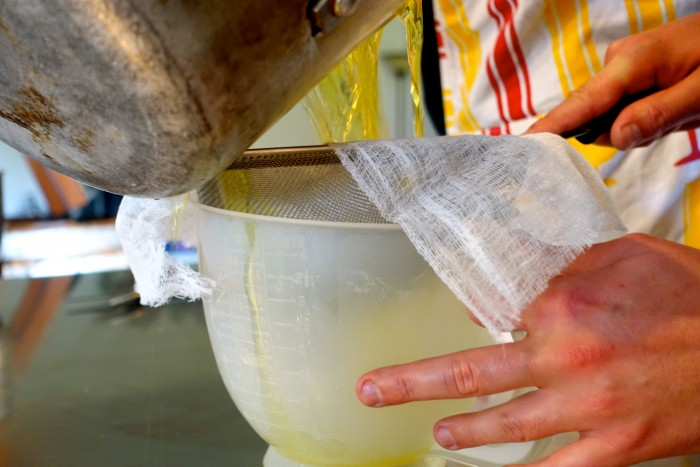 Learning how to make Limoncello 26