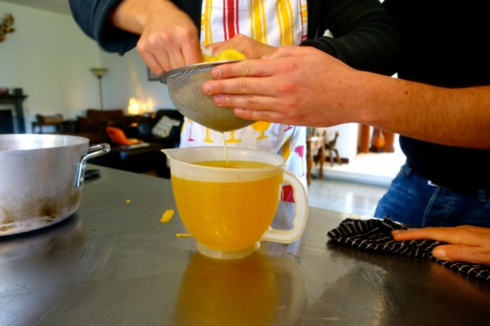 Learning how to make Limoncello 28