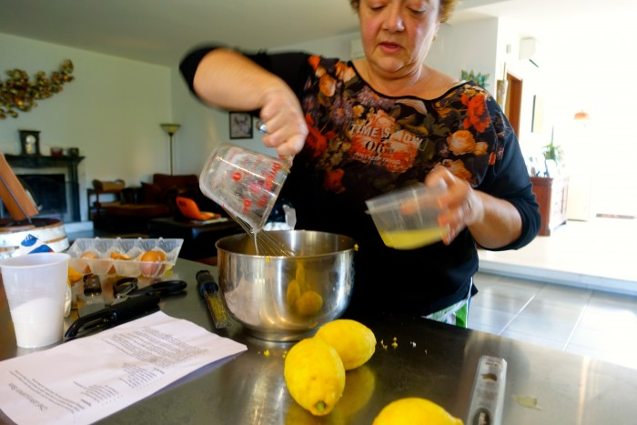 Learning how to make Limoncello 34