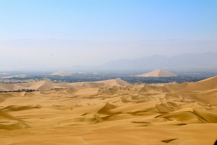 Sand boarding with Huacachina Peru 16