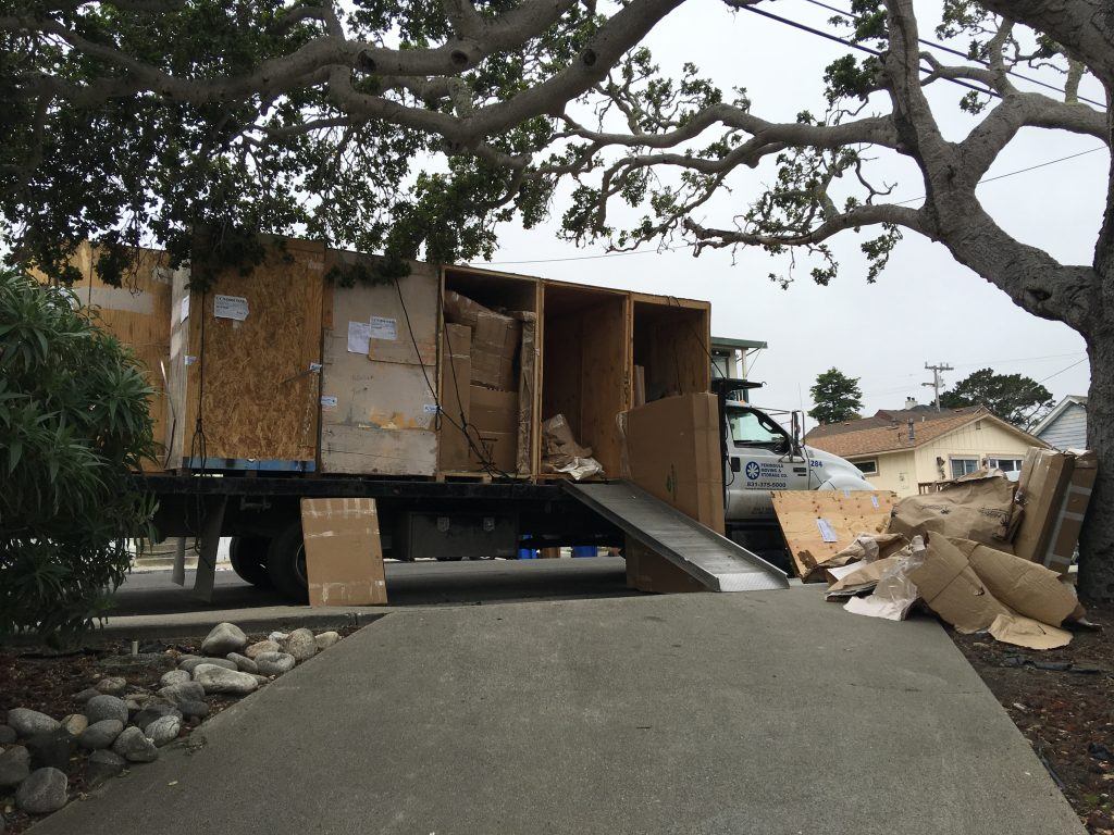 Move-in day, Monterey!
