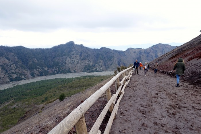 hiking Mt. Vesuvius Volcano, Naples Italy 14