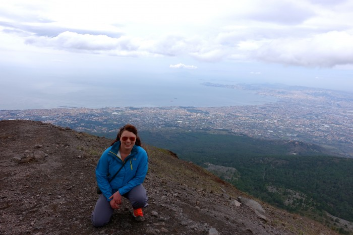 hiking Mt. Vesuvius Volcano, Naples Italy 22