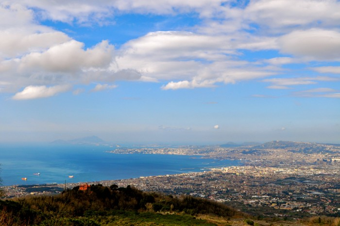 hiking Mt. Vesuvius Volcano, Naples Italy 2