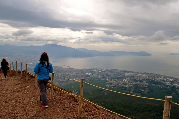 hiking Mt. Vesuvius Volcano, Naples Italy 6