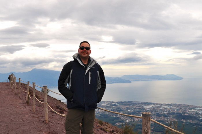 hiking Mt. Vesuvius Volcano, Naples Italy 9