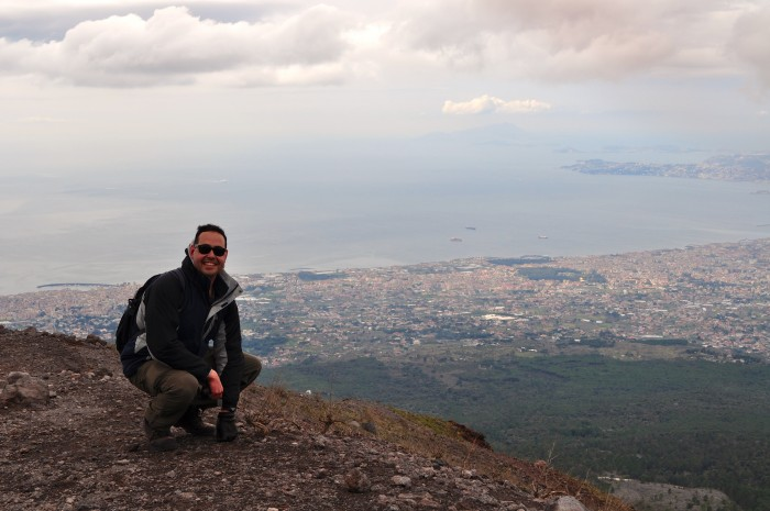 hiking Mt. Vesuvius Volcano, Naples Italy 11