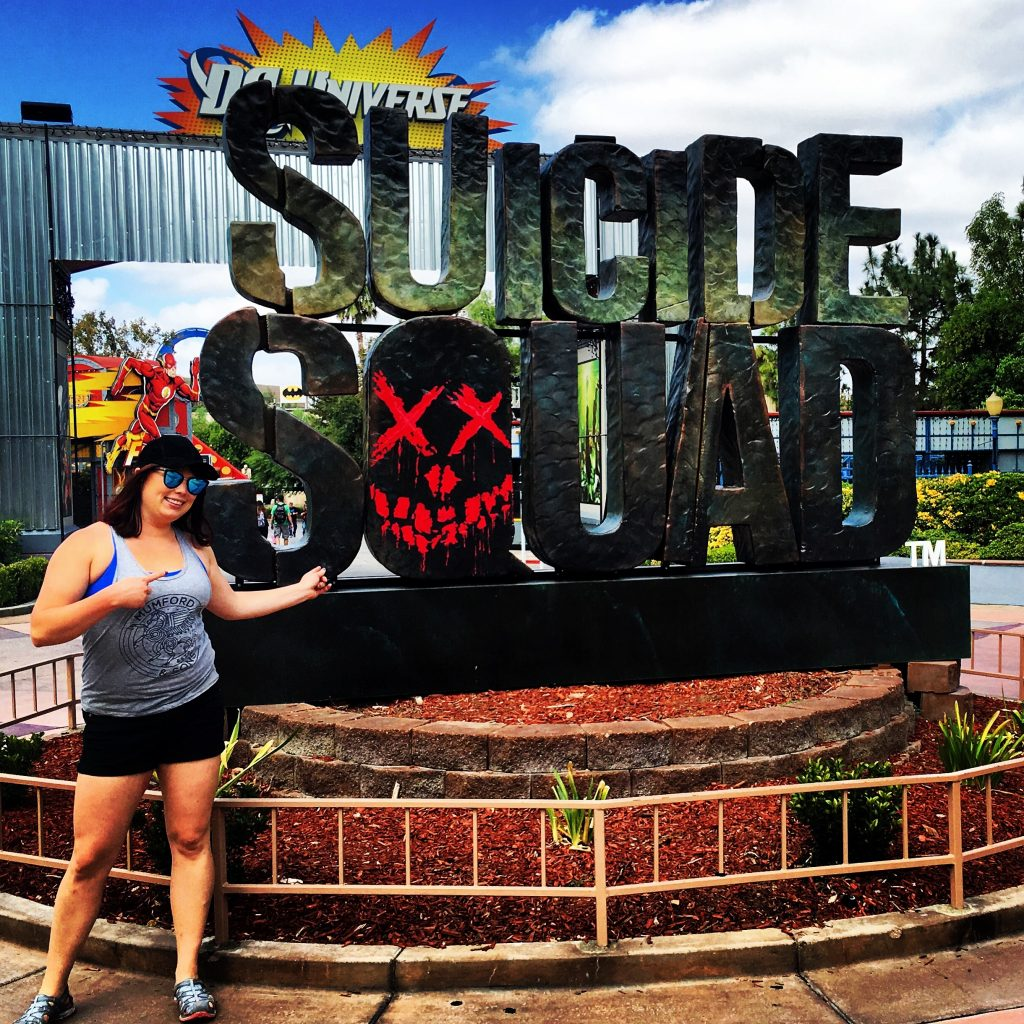 Suicide Squad Six Flags Magic Mountain