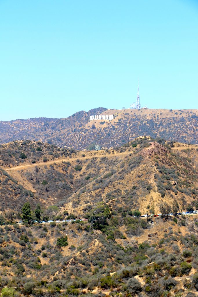 Hollywood Sign from Griffith Observatory LA
