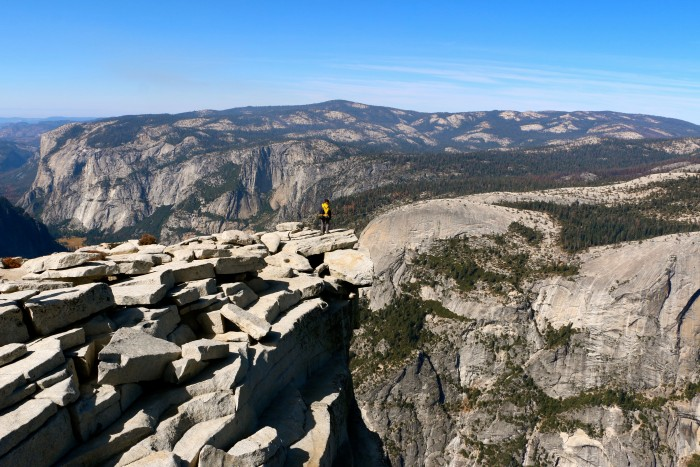 Climbing Half Dome Yosemite National Park 15