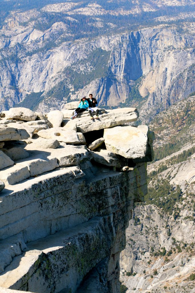 Climbing Half Dome Yosemite National Park