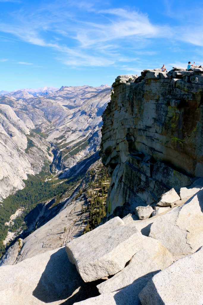 Climbing Half Dome Yosemite National Park 2