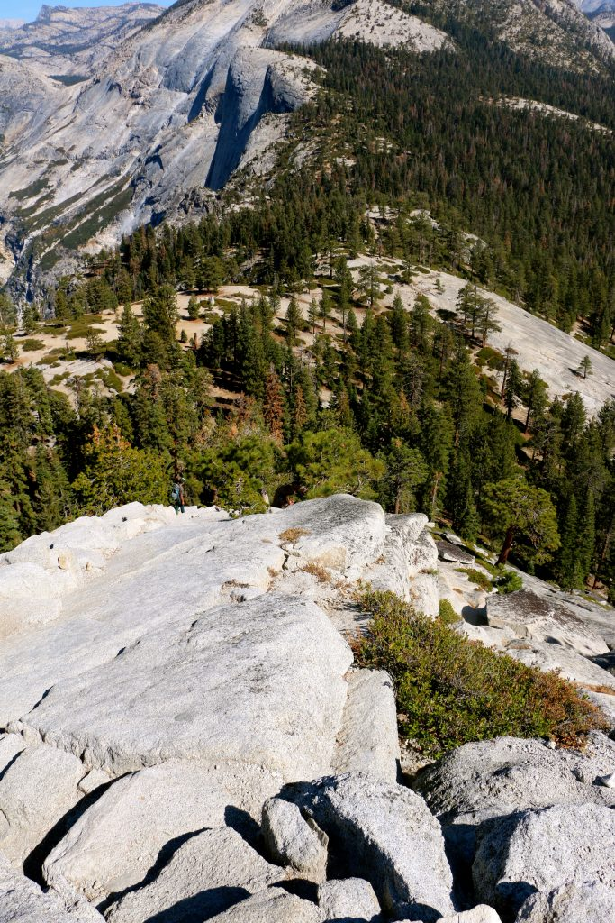 Climbing Half Dome Yosemite National Park 11