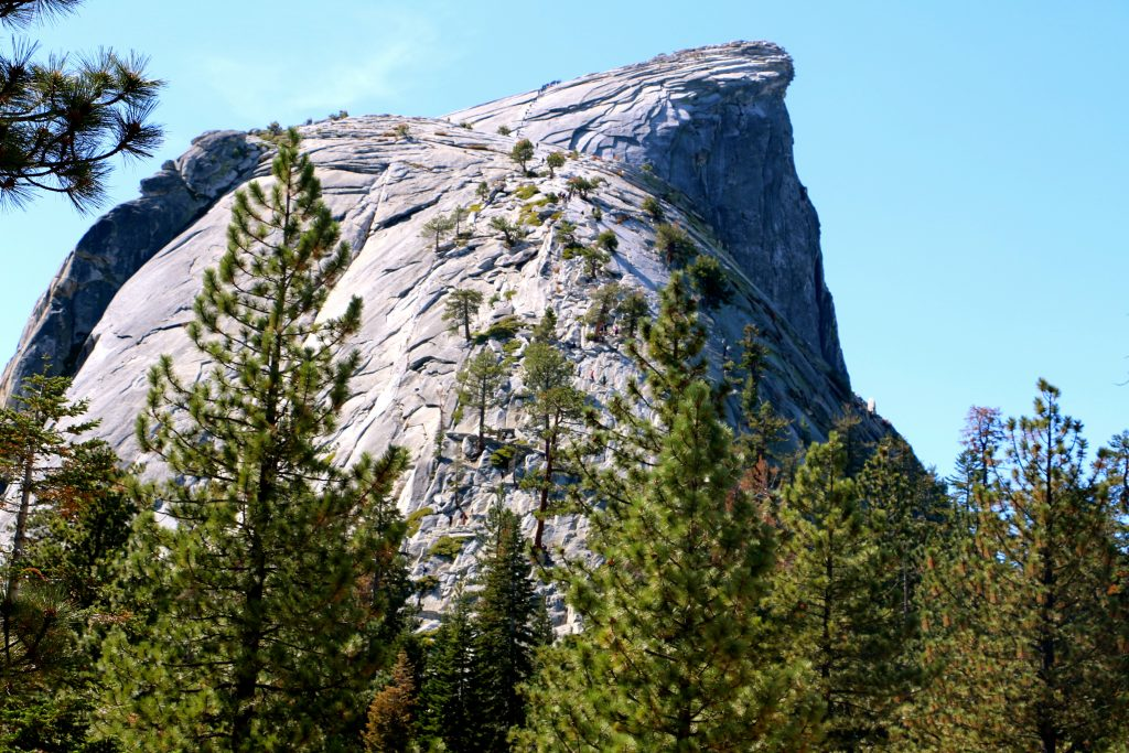 Climbing Half Dome Yosemite National Park 40