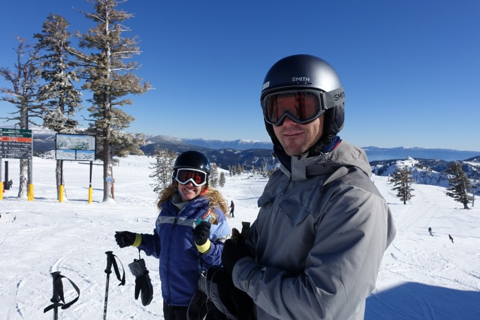 Squaw Valley Skiing Lake Tahoe