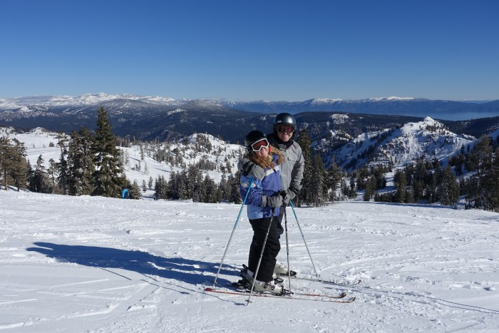 Squaw Valley Skiing Lake Tahoe 4