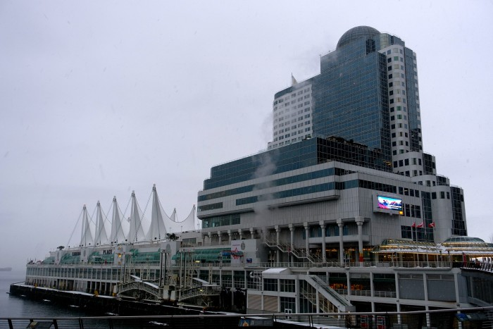 Downtown Vancouver, Opera House, BC