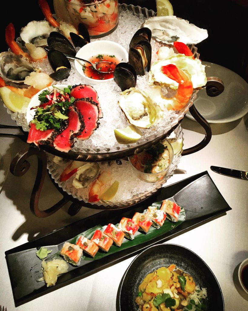 Seafood Pyramid at Blue Water Cafe, Vancouver