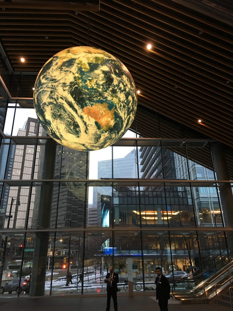 Globe at the Convention Center, Vancouver