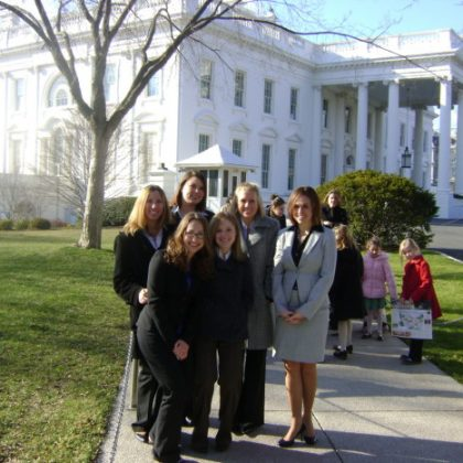 Tour of the East Wing of the White House: Thoughts and Facts.