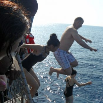 """Deployment Chronicles–> Article 25 """"I jumped overboard… FOR SWIM CALL!"""""""