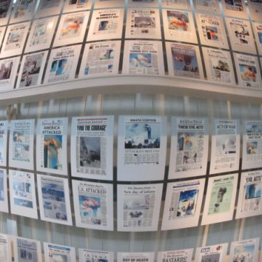 """""""Journalism is the First Rough Draft of History"""": NEWSEUM"""