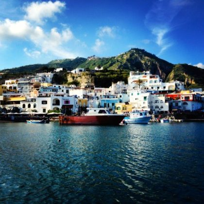 I'm On a Boat, Off the Island of Ischia Italy