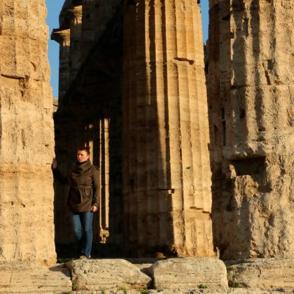 The Greek Ruins of Paestum Italy